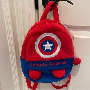 Captain America Toddler Backpack